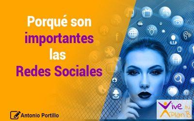 ¿Porqué son importantes las redes sociales?